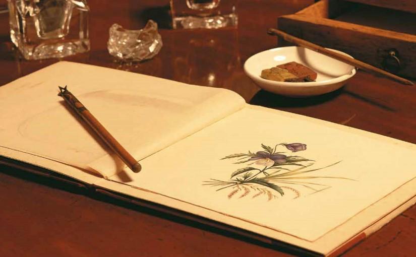Charlotte Brontës målarskrin